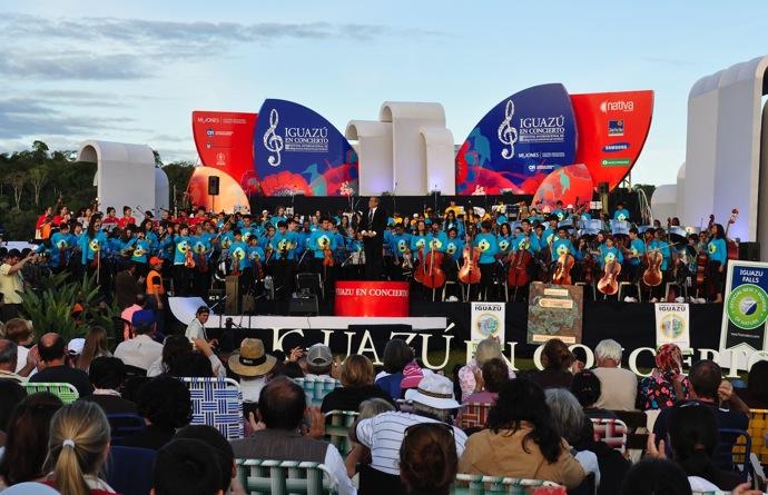 Festival «Iguazu en concerto» en Argentine