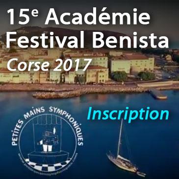 Inscription Corse 2017