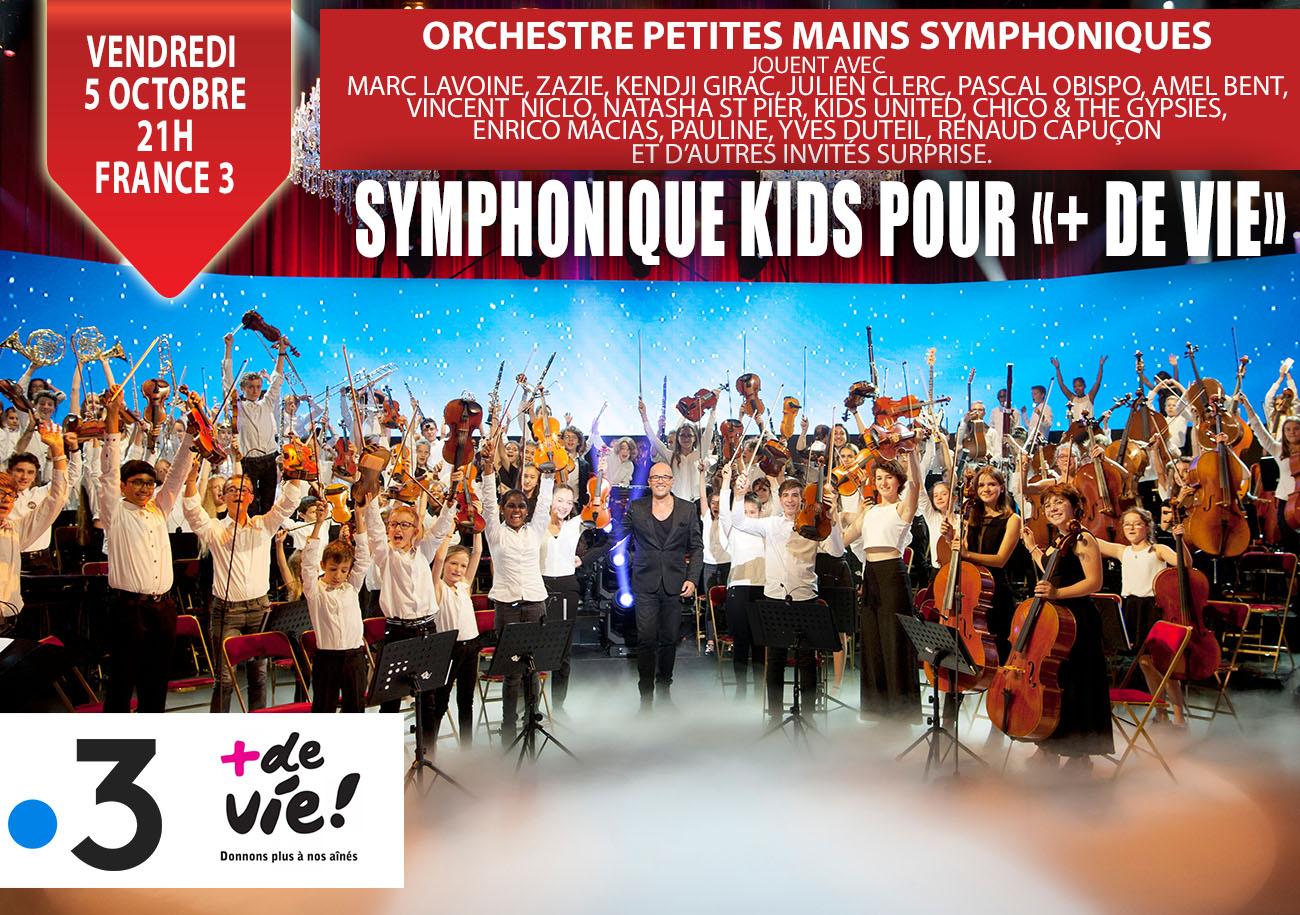 Concert France 3 pour + de vie
