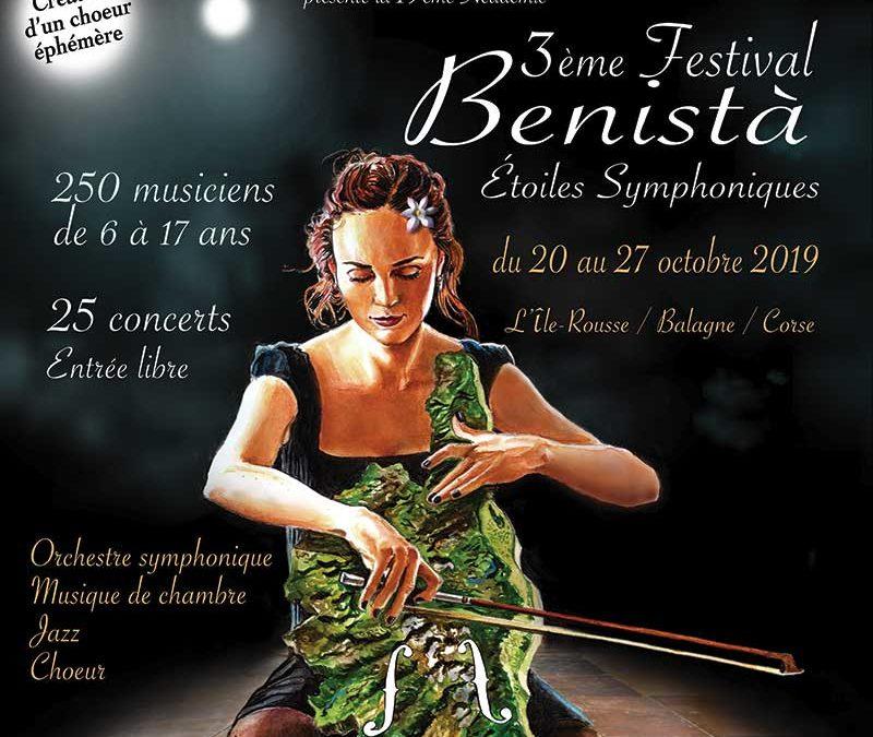 Concert de clôture – Samedi 26/10 – 3e Festival Benistà Étoiles Symphoniques