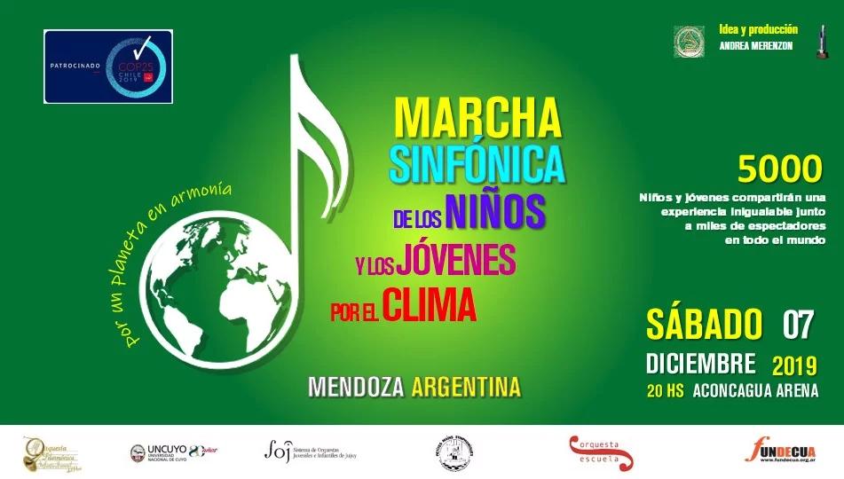 Concert évènement : la marche symphonique des enfants et des jeunes pour le climat