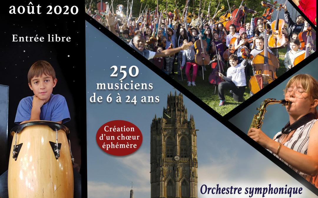 Concerts – Jeudi 27/8 – 6e Festival Étoiles Symphoniques