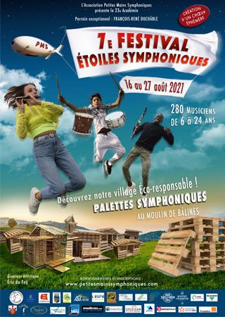 Concert – Vendredi 27/8 – 7e Festival Étoiles Symphoniques